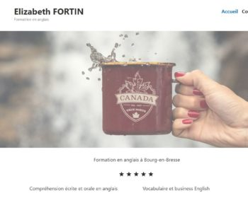 Site Internet Elizabeth Fortin